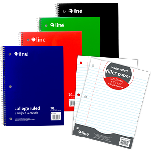 Notebooks & Filler Paper